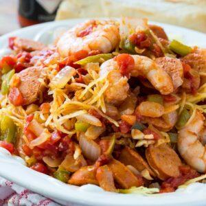 Spaghetti Squash Jambalaya