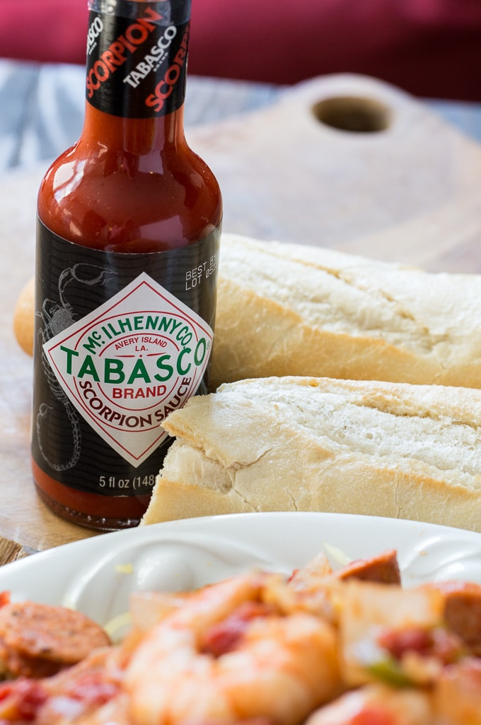 Scorpion Tabasco Sauce