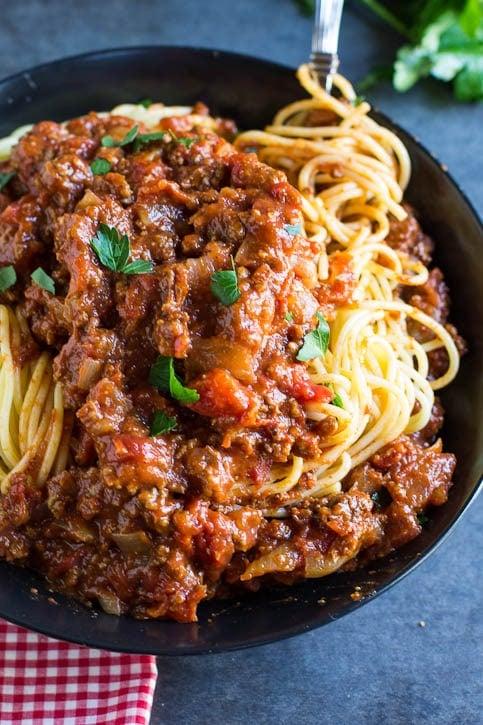 Spiced Spaghetti Sauce