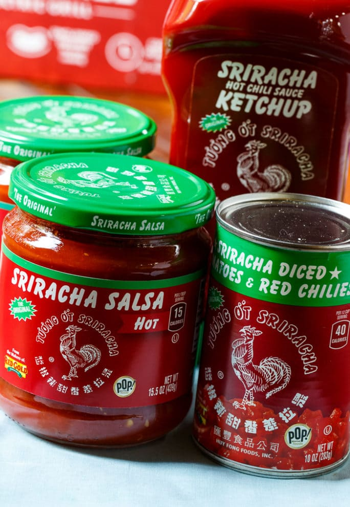 Red Gold Sriracha Products