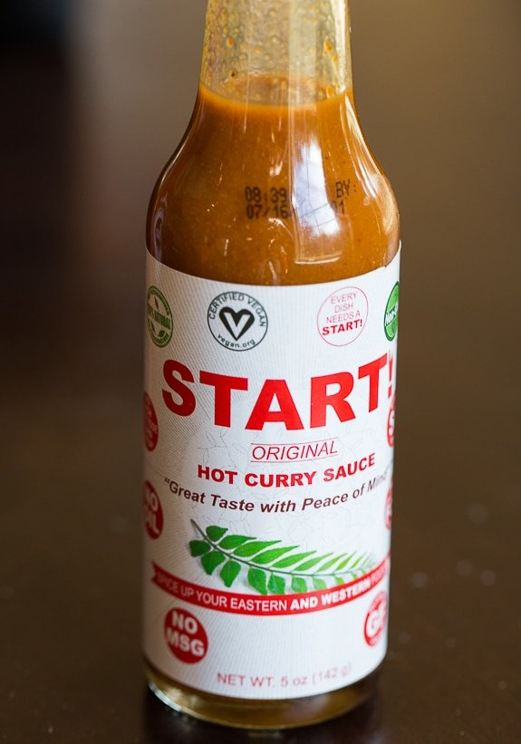 Start! Hot Curry Sauce