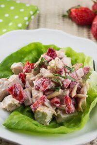 Chicken Salad with Strawberries