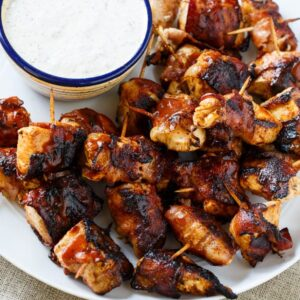 BBQ Bacon Chicken Bites