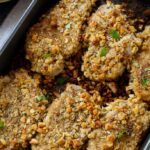 Stuffing Coated Pork Chops