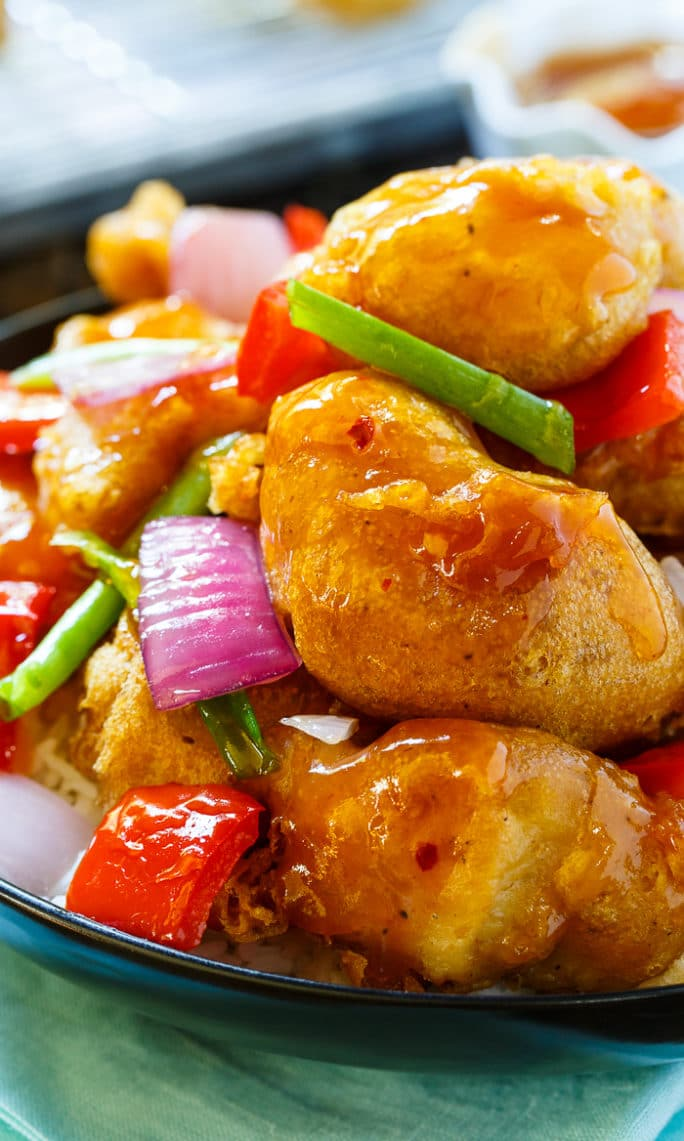 Homemade Sweet and Sour Chicken that tastes better than takeout!