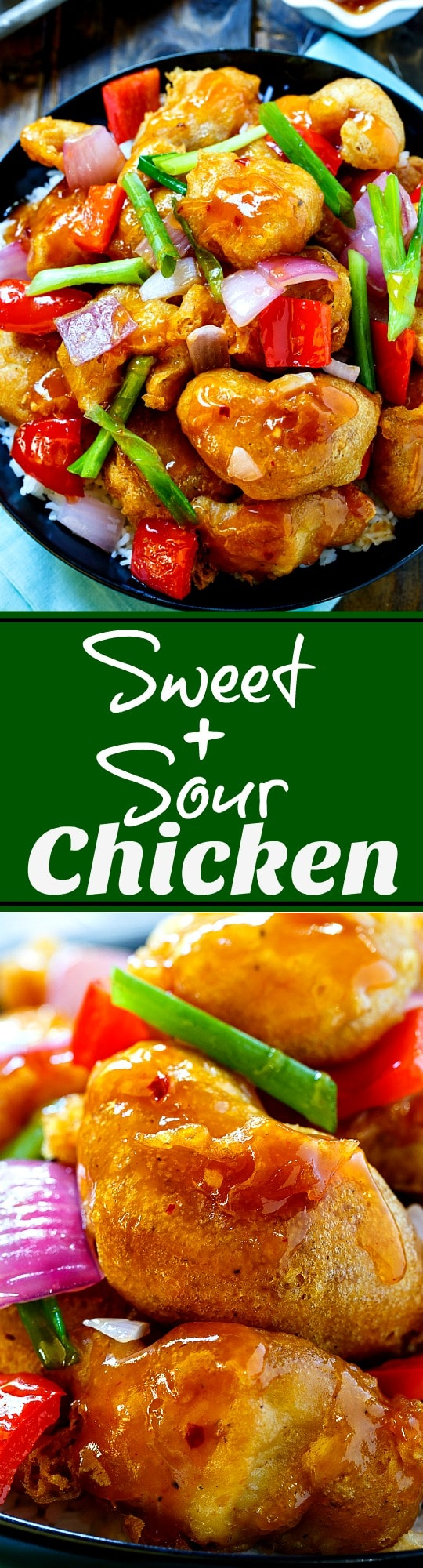 Sweet and Sour Chicken- better than takeout!