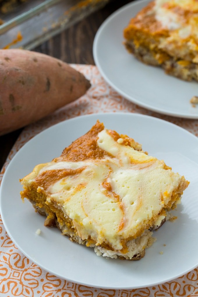 Sweet Potato Cream Cheese Bars