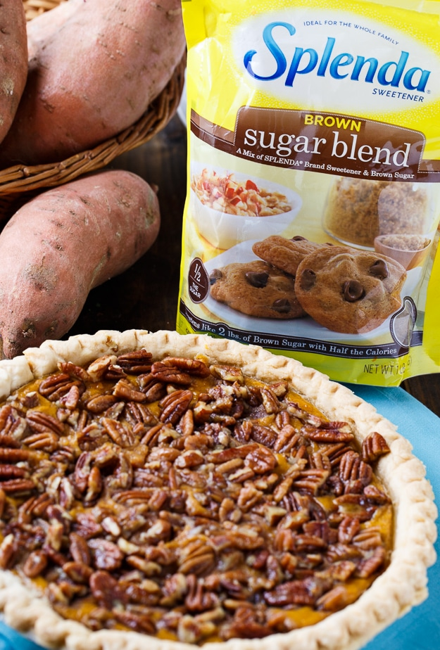 Lightened Up Sweet Potato Pie