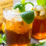 Sweet Tea Mint Julep - the perfct southern cocktail for a Kentucky Derby party.