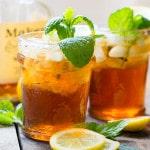 Sweet Tea Mint Julep
