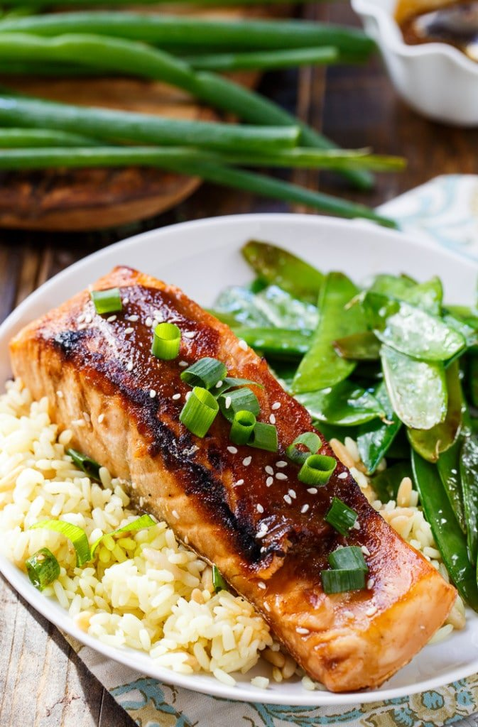 Quick and easy Teriyaki Salmon makes a quick and easy weeknight meal.