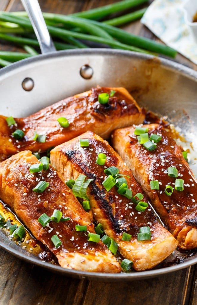 Quick and Easy Teriyaki Salmon