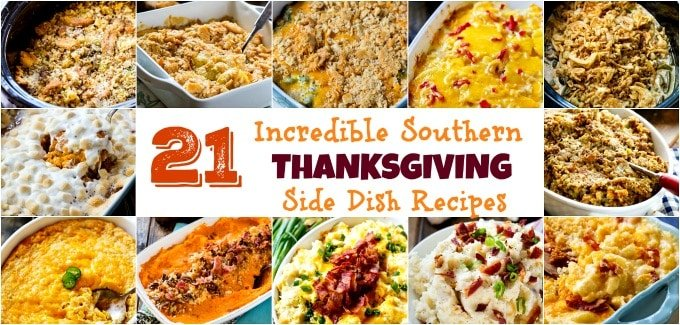 Southern Thanksgiving Side Dish Recipes