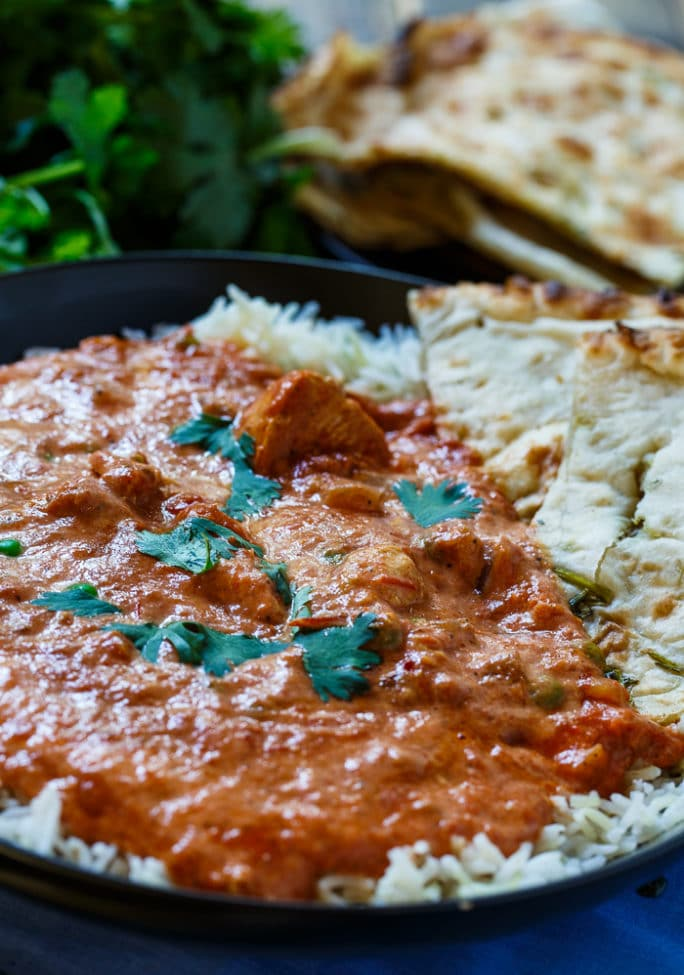 Slow Cooker Tikka Masala- so easy to make and so much flavor! Perfect for the Indian food lover!