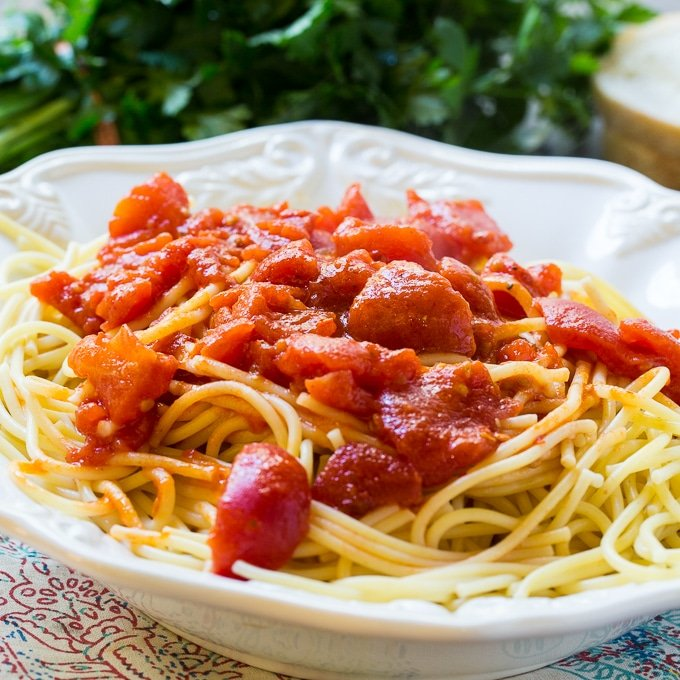 Spicy Tomato Butter Sauce