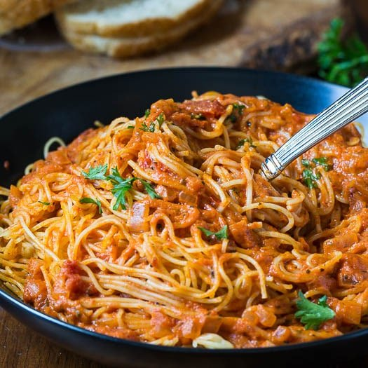 Spicy Tomato Cream Pasta - Spicy Southern Kitchen