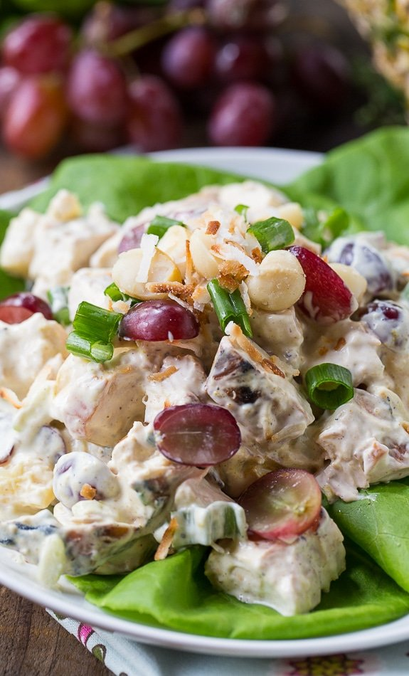 Tropical Chicken Salad - Spicy Southern Kitchen