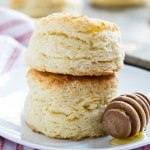 Tupelo Honey Ginormous Biscuits- the butteriest biscuits ever!