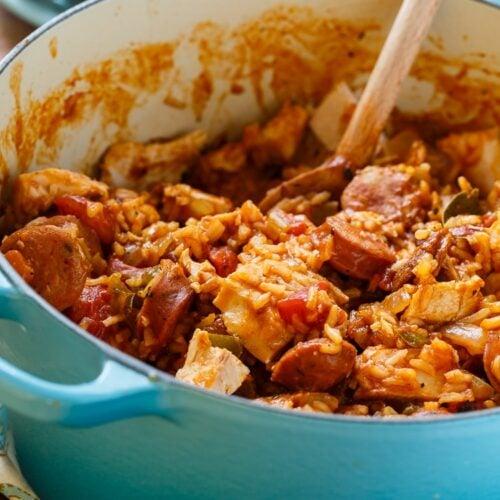 Leftover Turkey Jambalaya