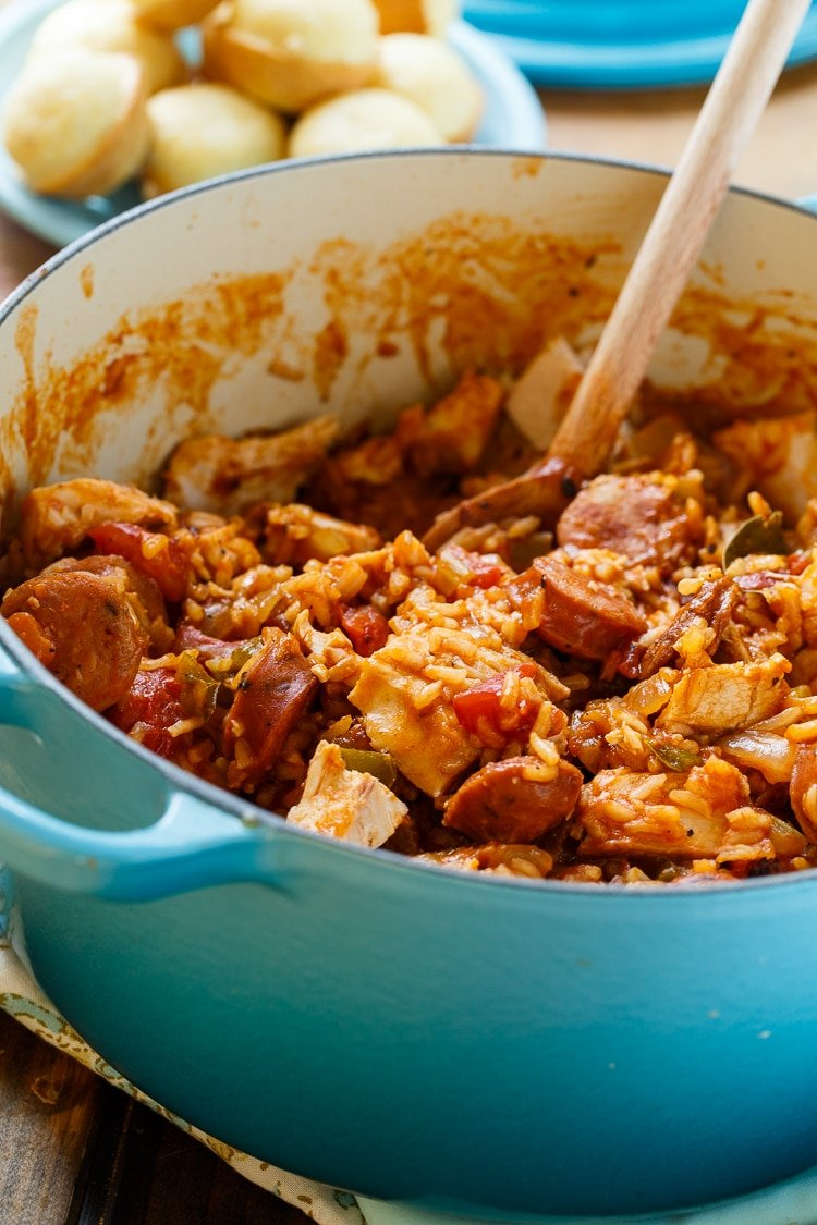 Leftover Turkey Jambalaya Spicy Southern Kitchen