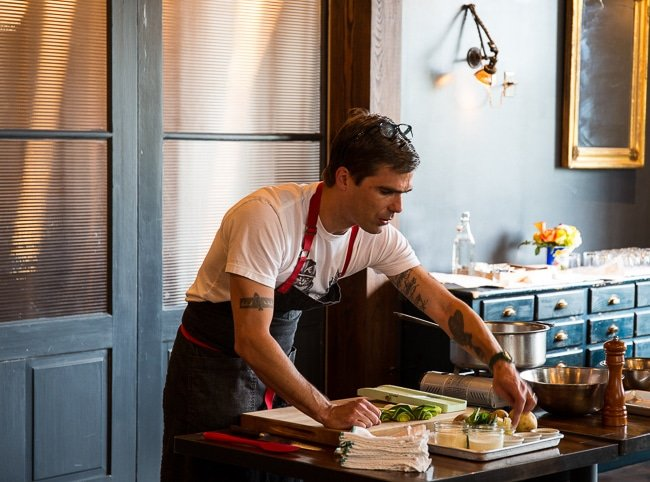 Chef HUgh Acheson at Empire in Atlanta.