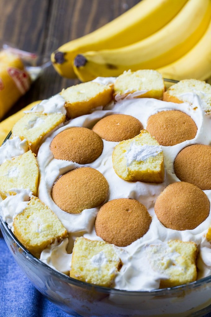 Twinkie Banana Pudding recipe