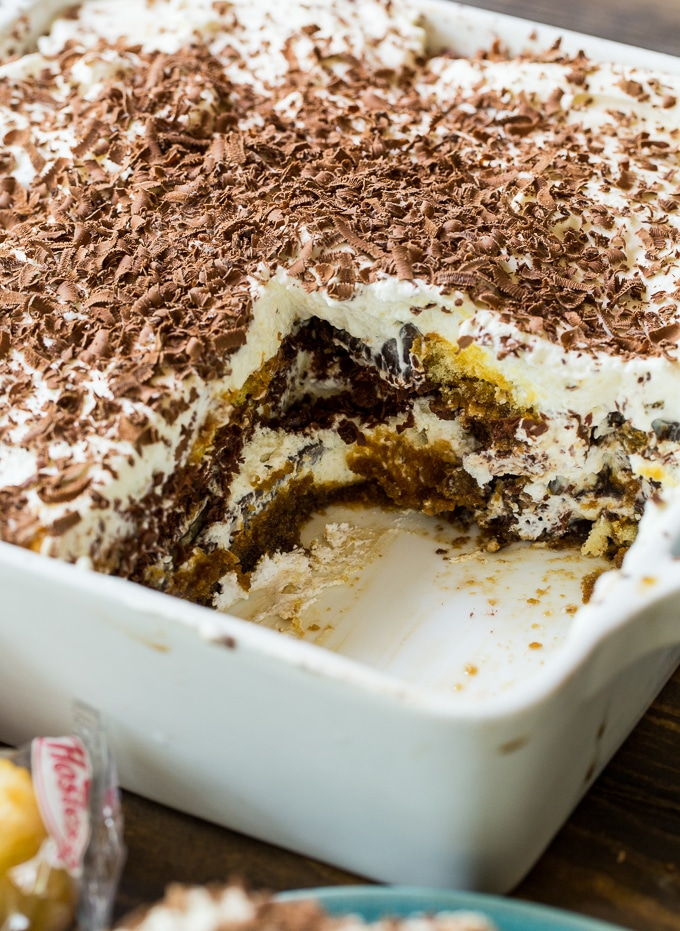 Twinkie Tiramisu is a great make-ahead dessert.