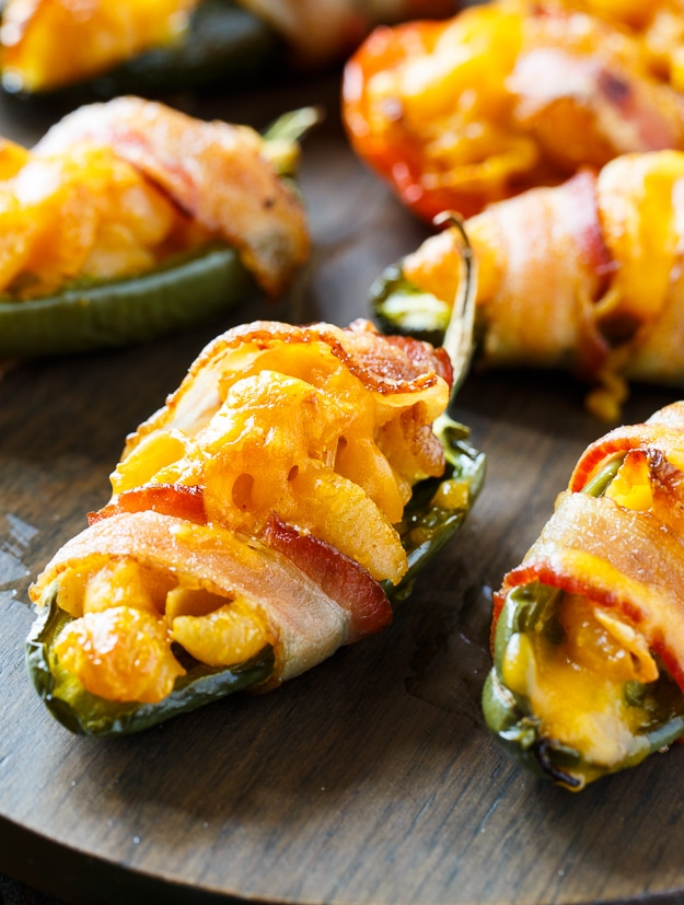 Mac and Cheese Jalapeno Poppers