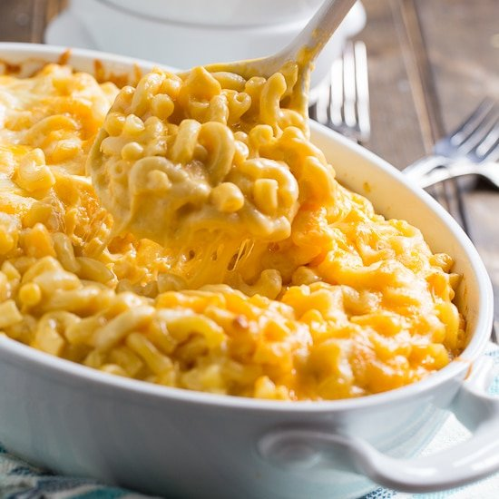 No Boil Crock-Pot Slow Cooker Mac and Cheese