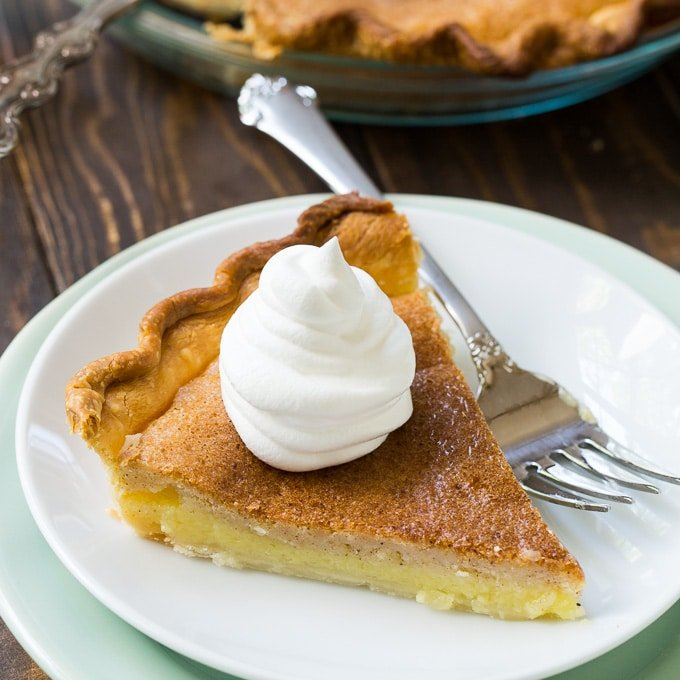 Vinegar Pie recipe