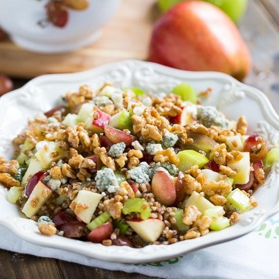 Wheat Berry Waldorf Salad | No Fuss Ways To Prepare Wheat Berries