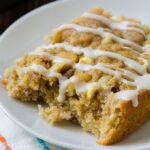 White Chocolate and Macadamia Nut Coffee Cake