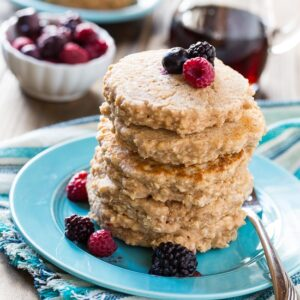 Super healthy Whole Wheat Pancakes