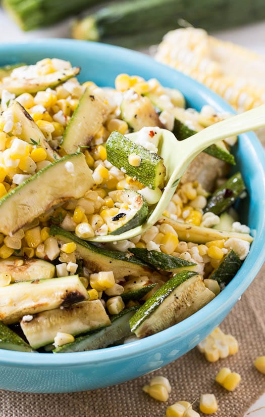 ... Recipe for Spicy Grilled Eggplant and Zucchini Salad with Thai Flavors