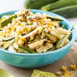 Grilled Zucchini-Corn Salad